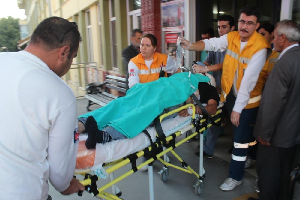 Hava ambulansı inşaat işçisi için havalandı 3