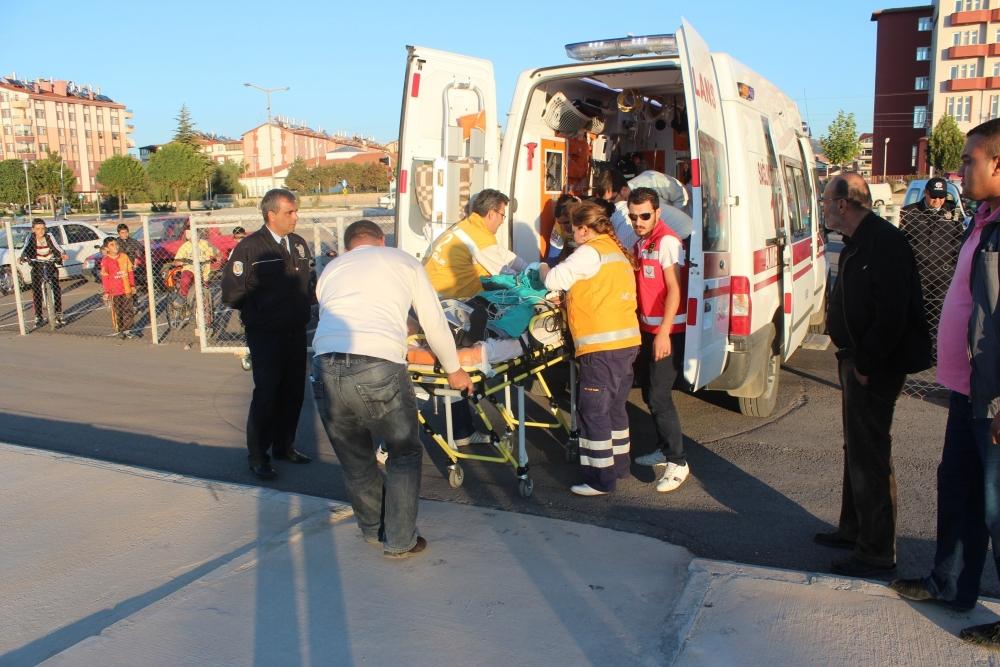 Hava ambulansı inşaat işçisi için havalandı 6