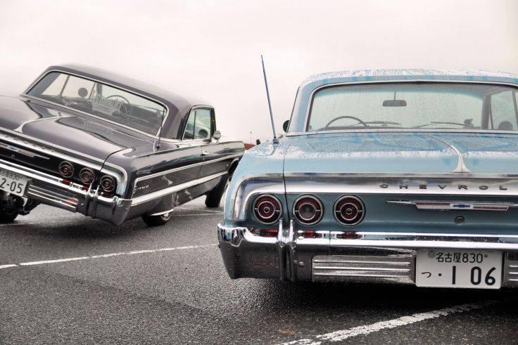 Klasik arabalar göz dolduruyor 81