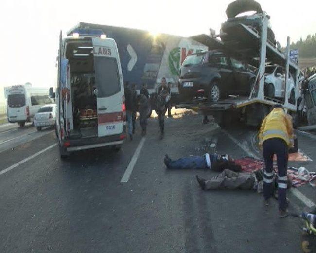Konya'da zincirleme facia: 9 ölü 19