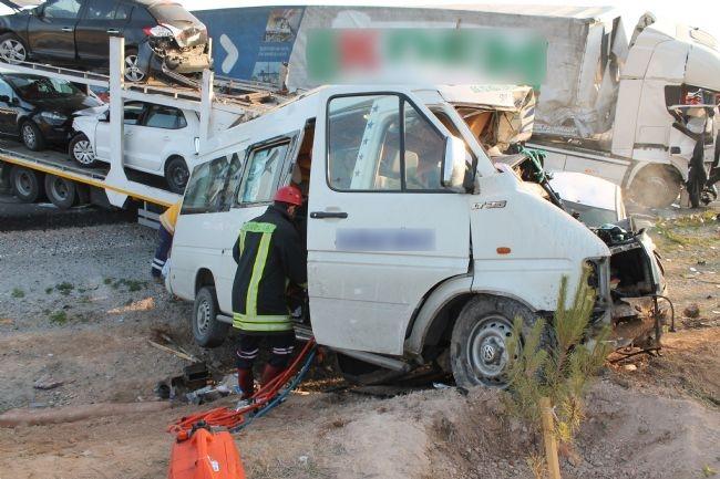 Konya'da zincirleme facia: 9 ölü 27