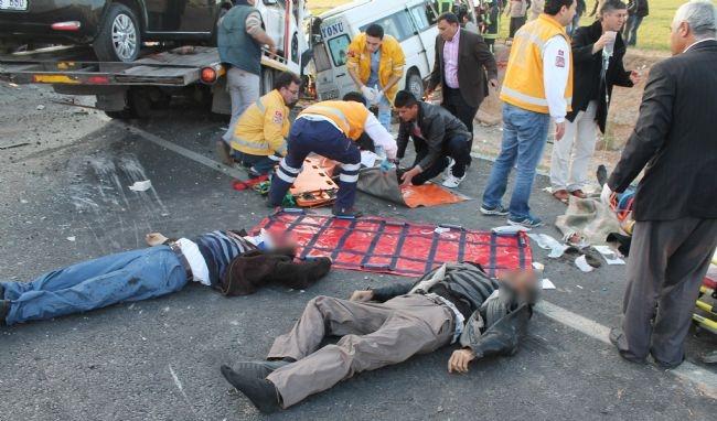 Konya'da zincirleme facia: 9 ölü 29