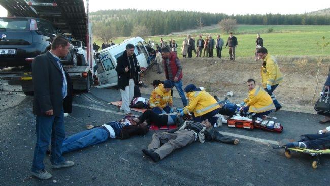 Konya'da zincirleme facia: 9 ölü 32