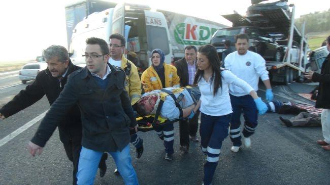 Konya'da zincirleme facia: 9 ölü 33