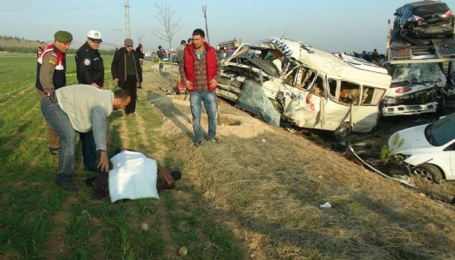 Konya'da zincirleme facia: 9 ölü 35