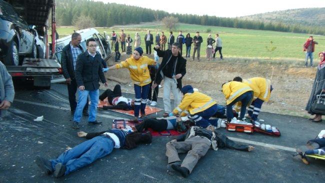 Konya'da zincirleme facia: 9 ölü 39