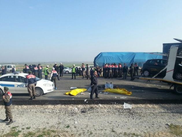 Konya'da zincirleme facia: 9 ölü 4