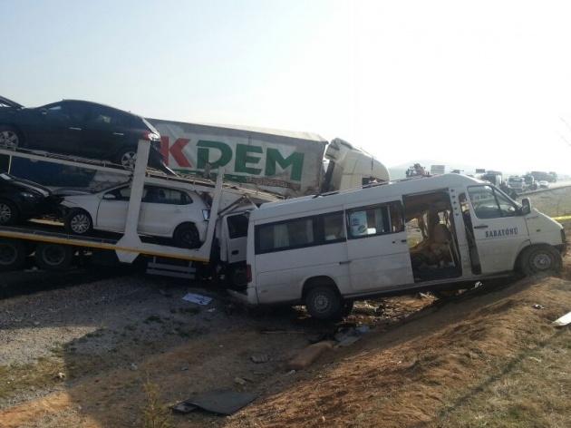 Konya'da zincirleme facia: 9 ölü 5