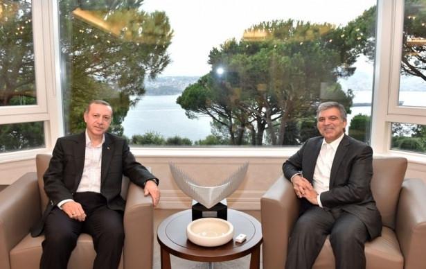 Erdoğan, Abdullah Gül'ü ziyaret etti 1
