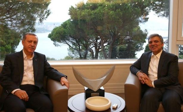 Erdoğan, Abdullah Gül'ü ziyaret etti 4