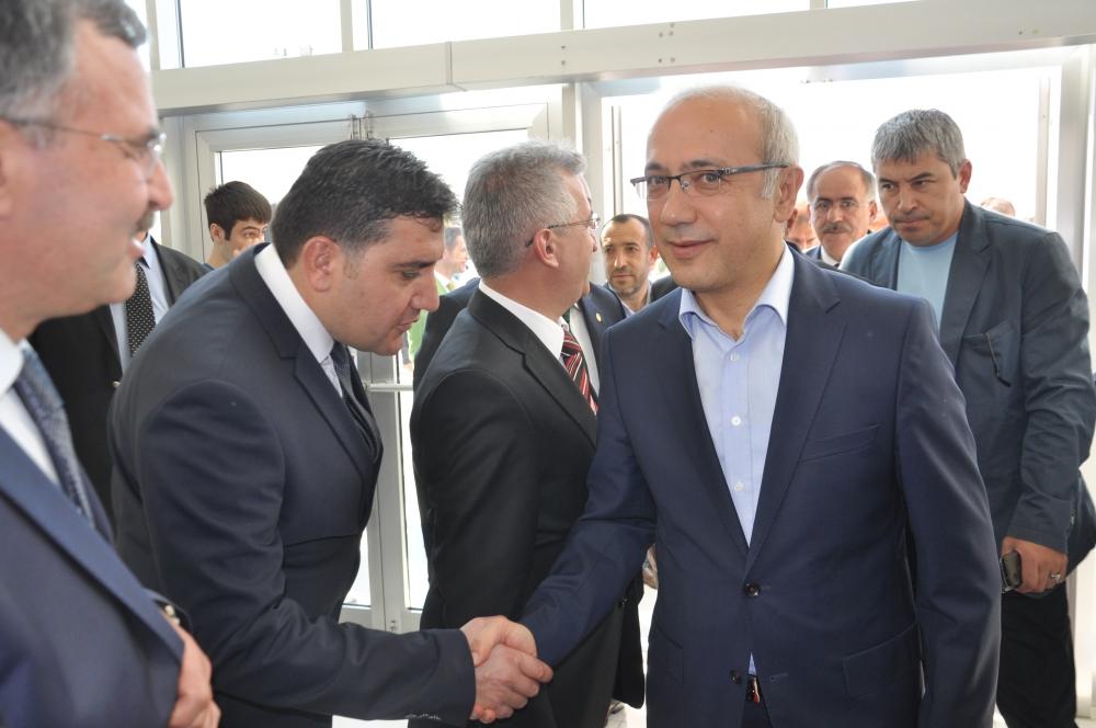 Bakan Elvan Konya'da bayramlaştı 2
