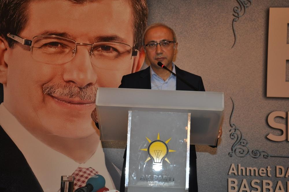 Bakan Elvan Konya'da bayramlaştı 6