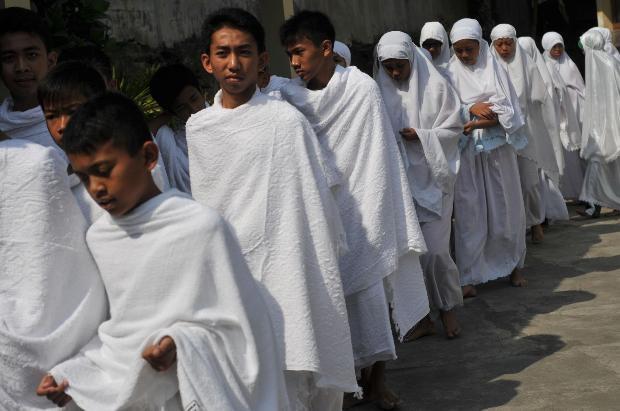 Endonezyalı ortaokul öğrencilerine Hac eğitimi 10