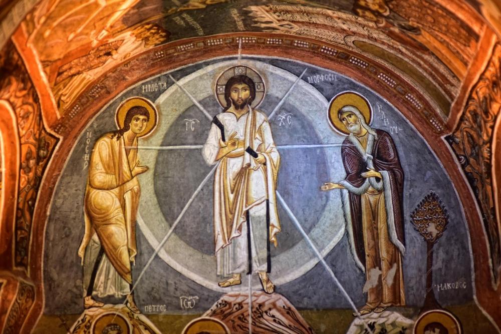 Bin yıllık freskleri turistlerin ilgisini çekiyor 26