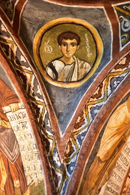 Bin yıllık freskleri turistlerin ilgisini çekiyor 27