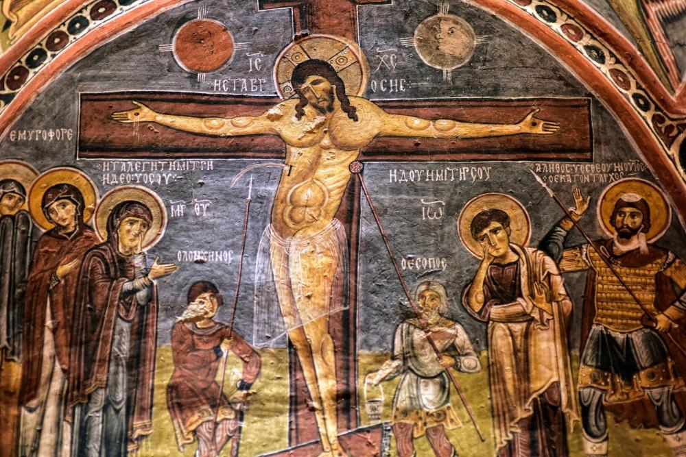 Bin yıllık freskleri turistlerin ilgisini çekiyor 29
