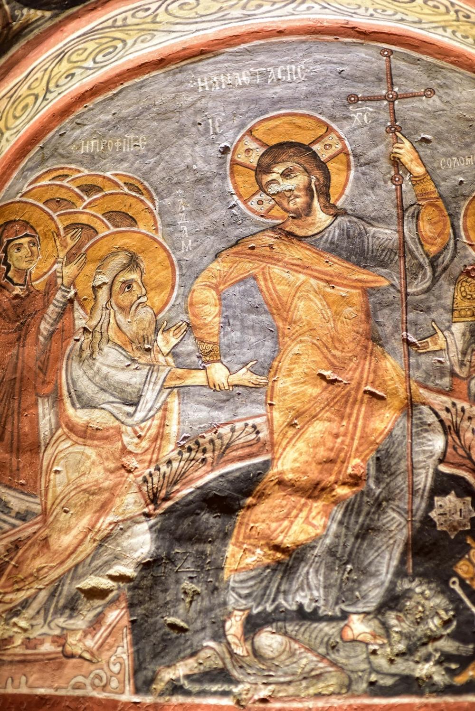 Bin yıllık freskleri turistlerin ilgisini çekiyor 31