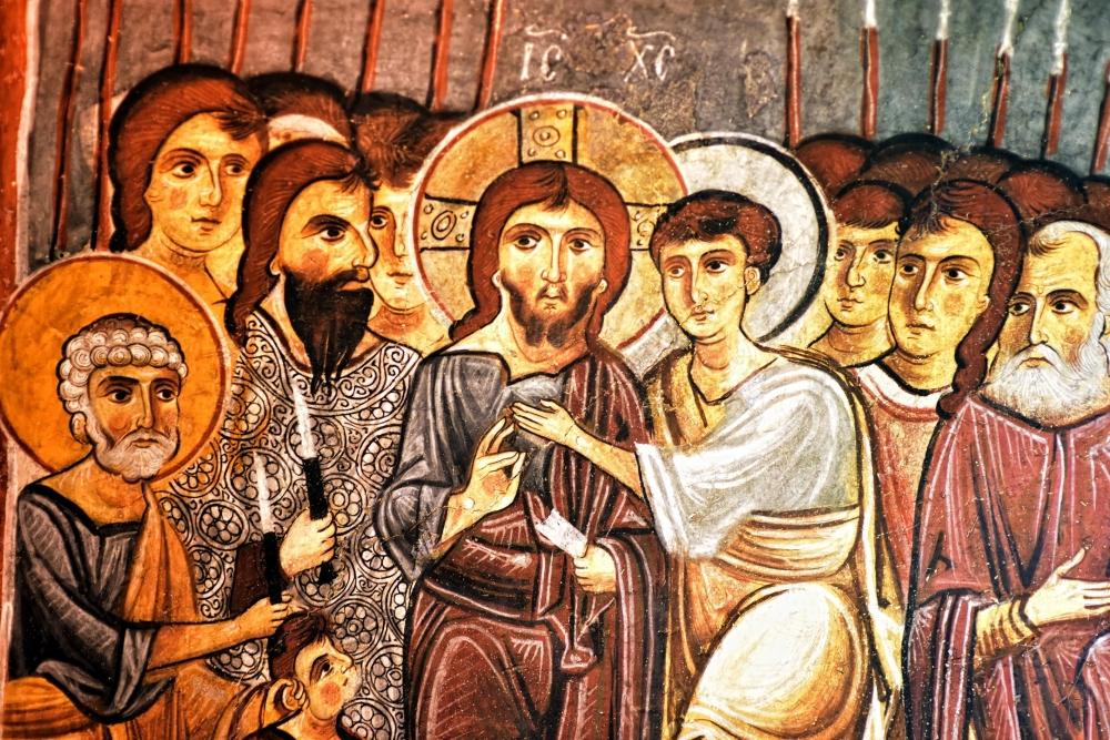 Bin yıllık freskleri turistlerin ilgisini çekiyor 34