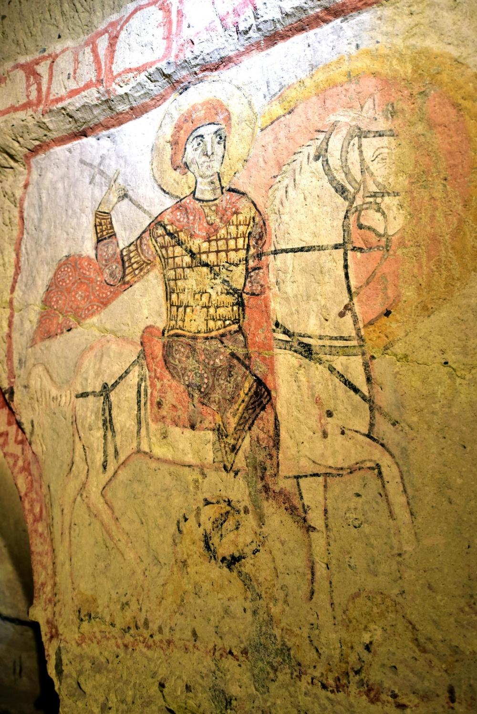 Bin yıllık freskleri turistlerin ilgisini çekiyor 6