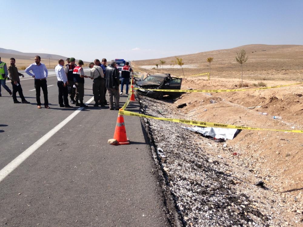 Konya'da otomobil devrildi: 1 ölü, 6 yaralı 3