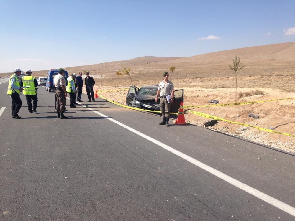 Konya'da otomobil devrildi: 1 ölü, 6 yaralı 4