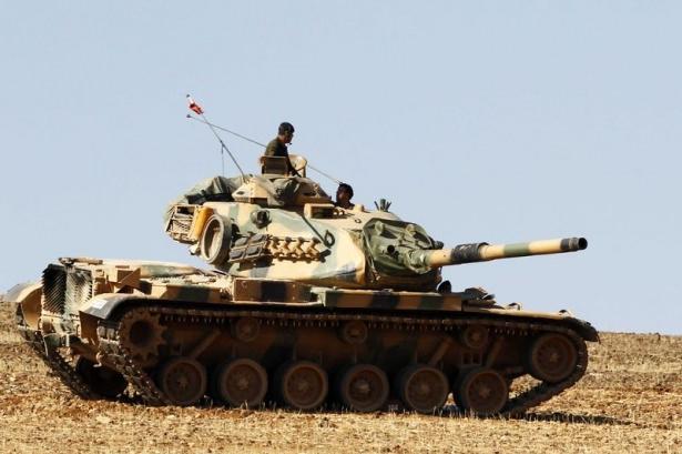 Türkiye'den Suriye sınırına tank duvarı 16