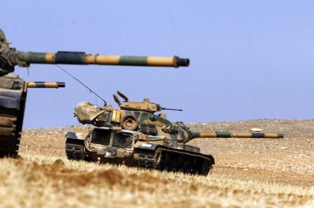 Türkiye'den Suriye sınırına tank duvarı 19