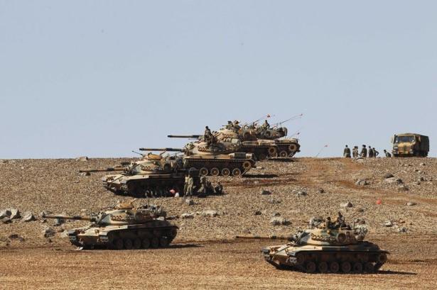 Türkiye'den Suriye sınırına tank duvarı 20