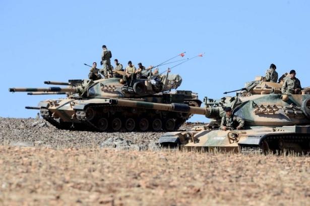 Türkiye'den Suriye sınırına tank duvarı 25