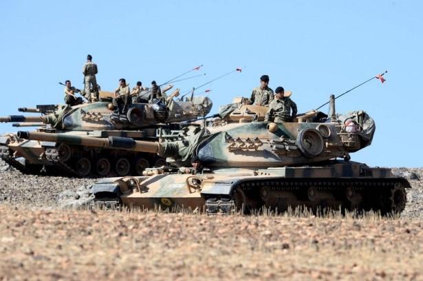 Türkiye'den Suriye sınırına tank duvarı 29