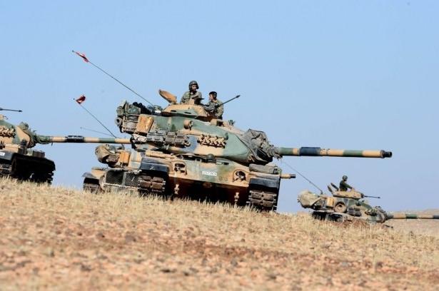 Türkiye'den Suriye sınırına tank duvarı 3