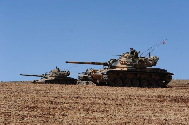 Türkiye'den Suriye sınırına tank duvarı 30