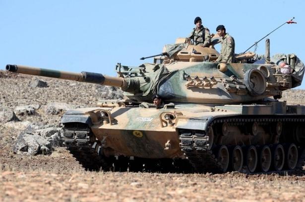 Türkiye'den Suriye sınırına tank duvarı 34