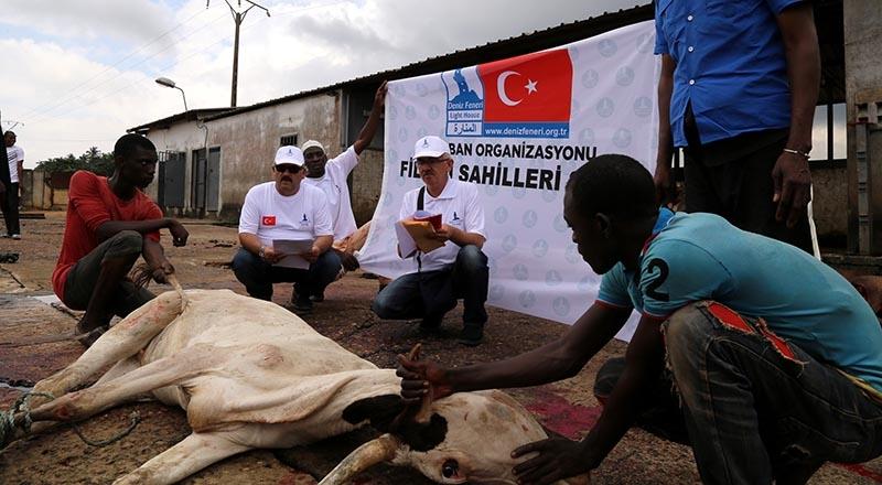 Türkiye'nin kurban yardımları yüzleri güldürüyor 12