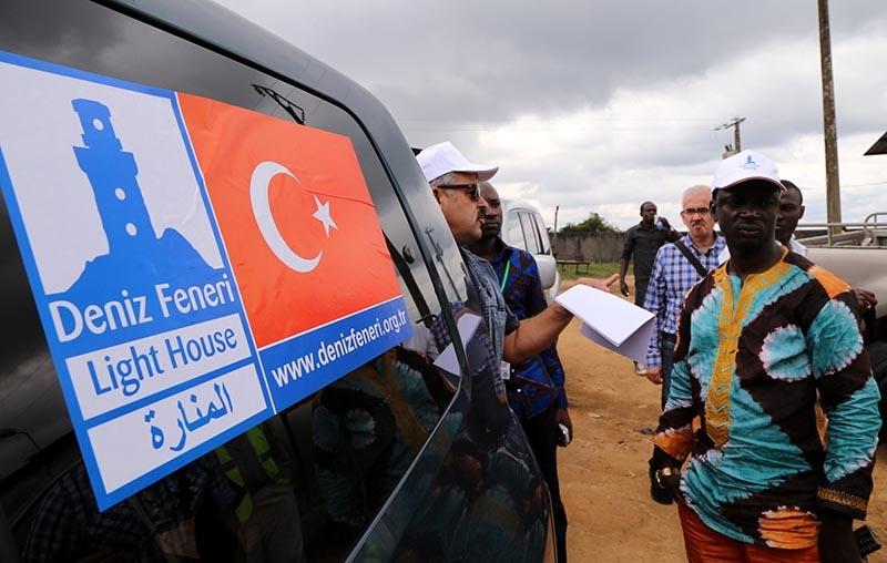 Türkiye'nin kurban yardımları yüzleri güldürüyor 14