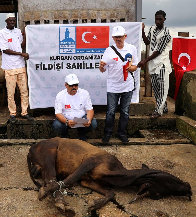Türkiye'nin kurban yardımları yüzleri güldürüyor 22
