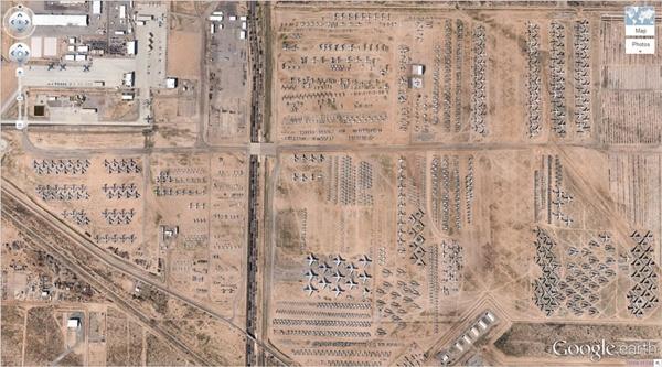 Google Earth'teki en sıradışı 29 yer 1
