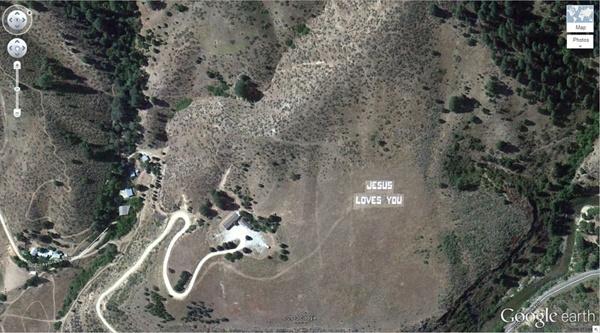 Google Earth'teki en sıradışı 29 yer 12
