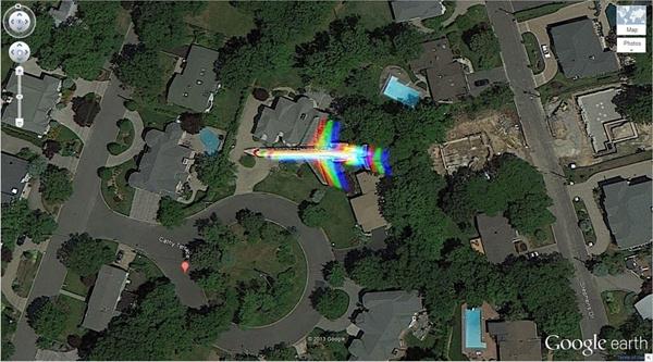 Google Earth'teki en sıradışı 29 yer 24
