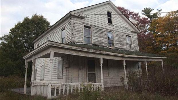 Catskills'in terk edilmiş evleri 1