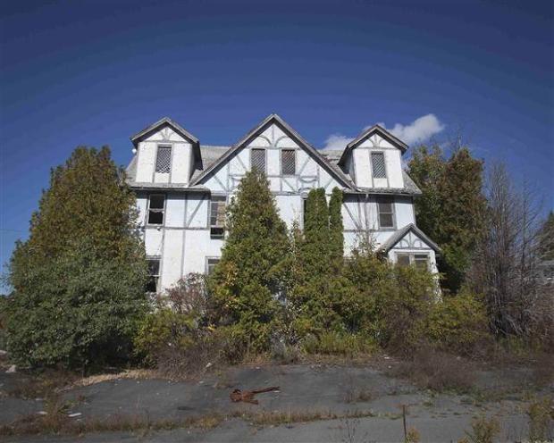 Catskills'in terk edilmiş evleri 12