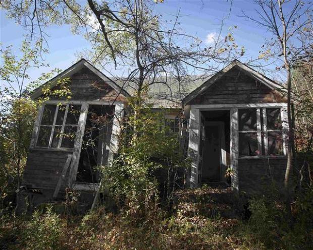 Catskills'in terk edilmiş evleri 16