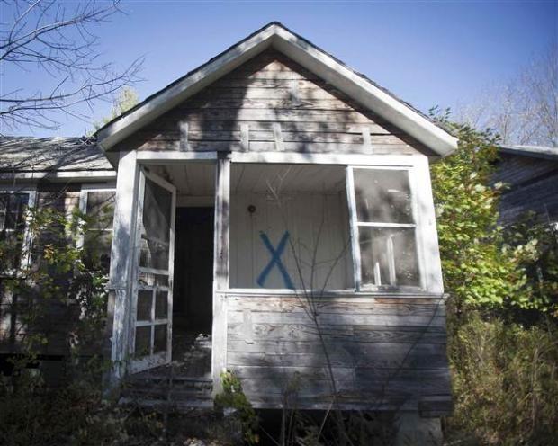 Catskills'in terk edilmiş evleri 17
