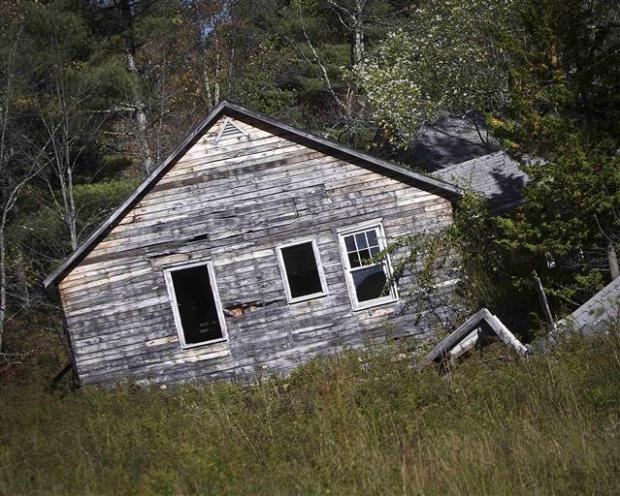 Catskills'in terk edilmiş evleri 18