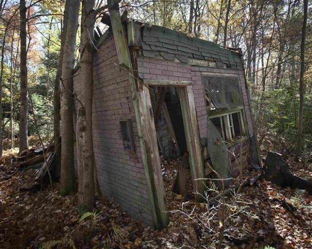 Catskills'in terk edilmiş evleri 19