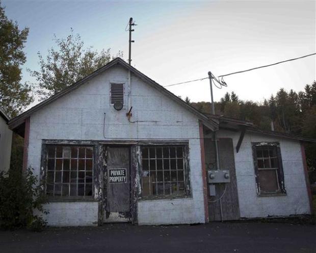 Catskills'in terk edilmiş evleri 2