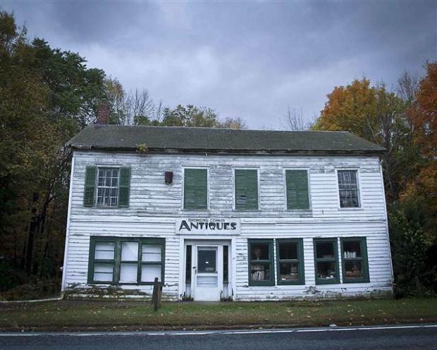 Catskills'in terk edilmiş evleri 20