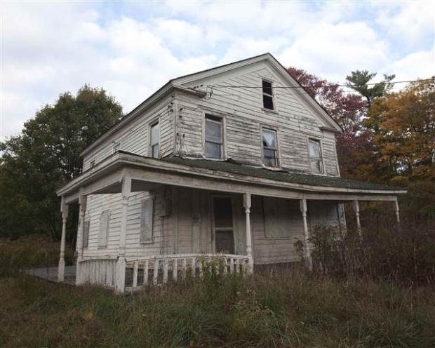 Catskills'in terk edilmiş evleri 26