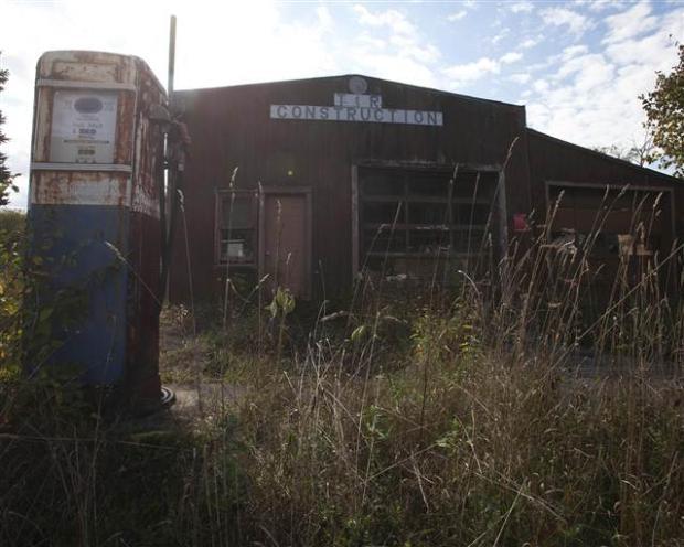 Catskills'in terk edilmiş evleri 27