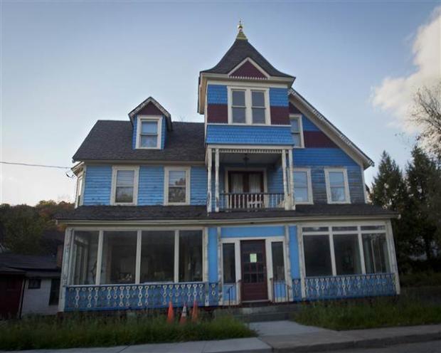 Catskills'in terk edilmiş evleri 4